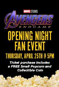OPENING NIGHT FAN EVENT: AVENGERS: ENDGAME - Cinergy